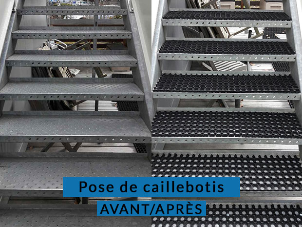 Nettoyage caillebotis